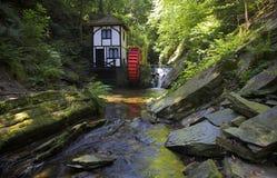 Het Waterrad van de Nauwe vallei van Groudle Royalty-vrije Stock Foto's