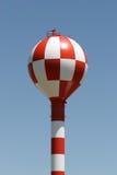 Het watertoren van de luchthaven stock foto's