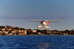 Het watervliegtuig van Sydney stock foto