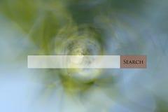 Het Web van de onderzoeksbar op multi gekleurde abstracte achtergrond Royalty-vrije Stock Fotografie