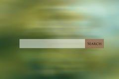 Het Web van de onderzoeksbar op multi gekleurde abstracte achtergrond Royalty-vrije Stock Foto