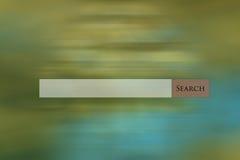 Het Web van de onderzoeksbar op multi gekleurde abstracte achtergrond Stock Foto's