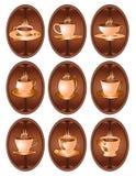 Het Webpictogram van de koffie Royalty-vrije Stock Foto's