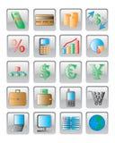 Het Webpictogram. vector beeld. Stock Foto