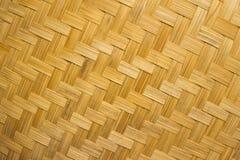Het weefsel van bamboe Stock Afbeeldingen