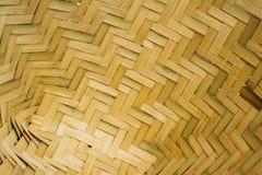 Het weefsel van bamboe Stock Afbeelding