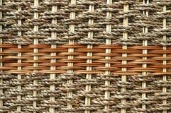 Het weefsel van het riet. stock afbeelding