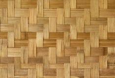 Het weefselpatroon van het bamboe Stock Afbeeldingen
