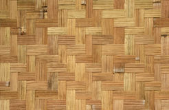 Het weefselpatroon van het bamboe Stock Fotografie