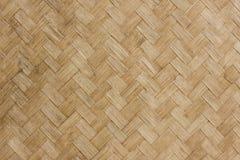Het weefselpatroon van het bamboe Royalty-vrije Stock Afbeeldingen