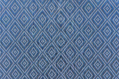 het weefseltextuur van de mat handcraft rotan voor achtergrond Stock Fotografie