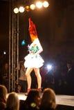 Het Weekend van de Manier van Praag op 24 September, 2011 in PR Royalty-vrije Stock Fotografie