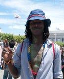 Het weekenddeelnemer van San Francisco Pride Stock Foto