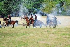 Het Weer invoeren van de Burgeroorlog Royalty-vrije Stock Afbeelding