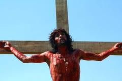Het weer invoeren van de Hartstocht van Christus Royalty-vrije Stock Foto
