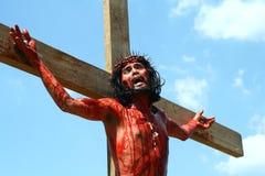 Het weer invoeren van de Hartstocht van Christus Stock Afbeeldingen