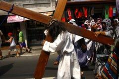 Het weer invoeren van de Hartstocht van Christus Royalty-vrije Stock Foto's