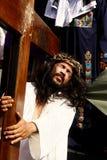 Het weer invoeren van de Hartstocht van Christus Royalty-vrije Stock Afbeeldingen