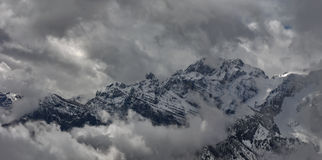Het weer van de winter Royalty-vrije Stock Foto