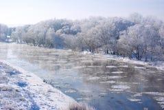 Het weer van de winter Stock Foto's