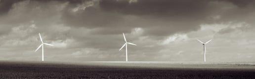 Het weer van het de turbineonweer van de wind Stock Foto's