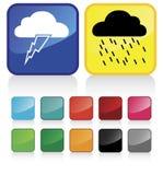 Het weer van wolken #2 Royalty-vrije Stock Foto's