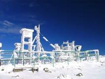 Het weerstation van het scherm Stock Fotografie