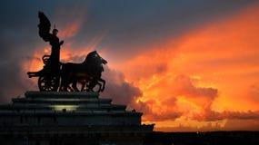Het wekken van standbeelden royalty-vrije stock afbeeldingen