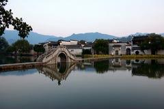 Het wereld cultureel erfgoed Hong cun Royalty-vrije Stock Afbeeldingen