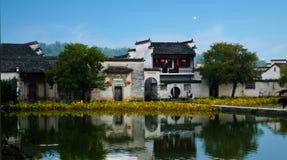 Het wereld cultureel erfgoed Hong cun Royalty-vrije Stock Fotografie