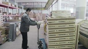 Het werk aangaande voorraad Orde voor vervoer stock videobeelden