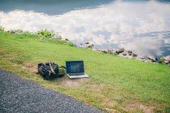 Het werk buiten Stock Fotografie