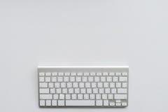 Het werk het idee van het Desktopconcept Stock Fotografie