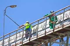 Het werk in hoogte 2 Stock Foto