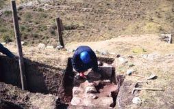 Het werk van Archeologic Stock Foto's
