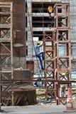 Het werk van de bouw Stock Foto's