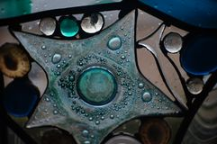 Het werk van de gebrandschilderd glaskunst royalty-vrije stock afbeeldingen