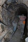 Het werk van de mijnwerker Royalty-vrije Stock Afbeeldingen