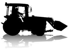 Het werk van de tractor Royalty-vrije Stock Afbeeldingen