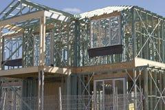 Het Werk van het frame voor Nieuw Huis Stock Fotografie