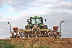 Het werk van het landbouwbedrijf Stock Foto