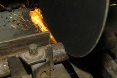 Het werk van het staal Stock Afbeeldingen