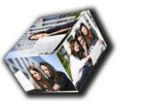 Het werk van het team Stock Foto's
