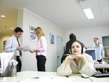 Het werk van het team het raadplegen Royalty-vrije Stock Fotografie