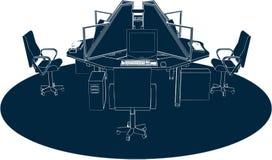 Het werk Vector 02 van het Bureau van de Plaats stock illustratie