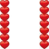 Het werkingsgebied van het hart Royalty-vrije Stock Afbeeldingen