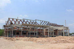 Het werkplaats van de bouw Royalty-vrije Stock Afbeeldingen