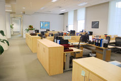 Het werkplaats van het bureau Stock Foto's