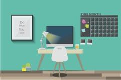 Het werkruimte Stock Fotografie