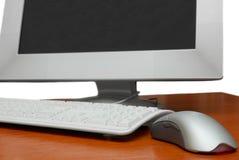 Het werkstation van de computer Stock Foto's